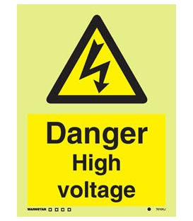 7610 Danger High voltage