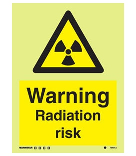 7660 Warning Radiation risk