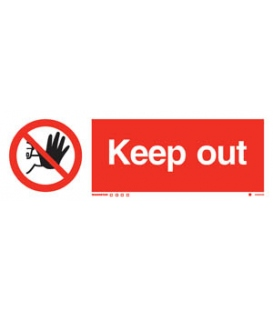 8559 Keep out + symbol
