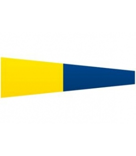 Signal Pennant Numeral 5 (Numeral Five Pennant)