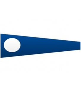 Signal Pennant Numeral 2 (Numeral Two Pennant)