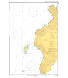 British Admiralty Japanese Nautical Chart 11 Shakotan Misaki to Matsumae Ko