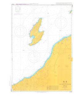 British Admiralty Japanese Nautical Chart 1180 Sado Kaikyo and Approaches