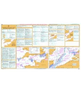 British Admiralty Nautical Chart 5500 Mariners' Routeing Guide - English Channel and Southern North Sea