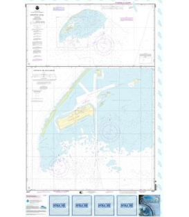 NOAA Chart 83637 Johnston Atoll - Johnston Island Harbor