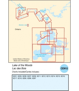CEN12 - Lakes and Rivers in Manitoba and Saskatchewan, 2015 Ed.