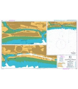 British Admiralty Nautical Chart 2044 Shoreham Harbour and Approaches