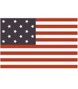 Star Spangled Banner Flag (Dyed)