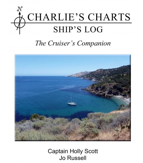 CHARLIE'S CHARTS Ship's Log - NEW!