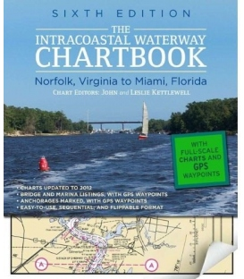 Intracoastal Waterway Chartbook, Norfolk to Miami, 6th edition 2012