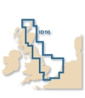 Meridian Digital Chart ID10 - North Sea - South and East