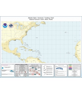 Hurricane Tracking Chart Atlantic Basin