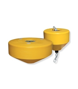 Sealite AQUAMOOR Series - Mooring Buoys AQUAMOOR-1000 & AQUAMOOR-650 (chain not included - range of mooring equipment available)