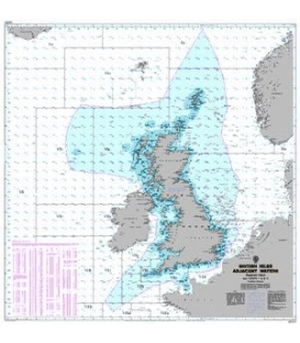 British Admiralty World Miscellaneous Charts Q6353 Fisheries Chart