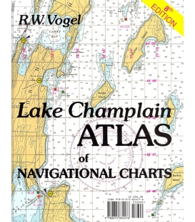 Lake Champlain Atlas of Navigational Charts, 8th Edition 2013