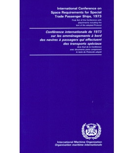 IMO e-Book E734B Space Requirements for Special Trade Ships, 1972 Bilingual Edition