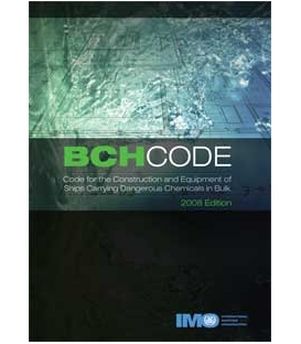 IMO e-Reader KC772E Ships Carrying Dangerous Chemicals in Bulk (BCH), 2008 Edition