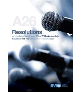 Resolutions: 26th Session 2009 (Res. 1011-1032)