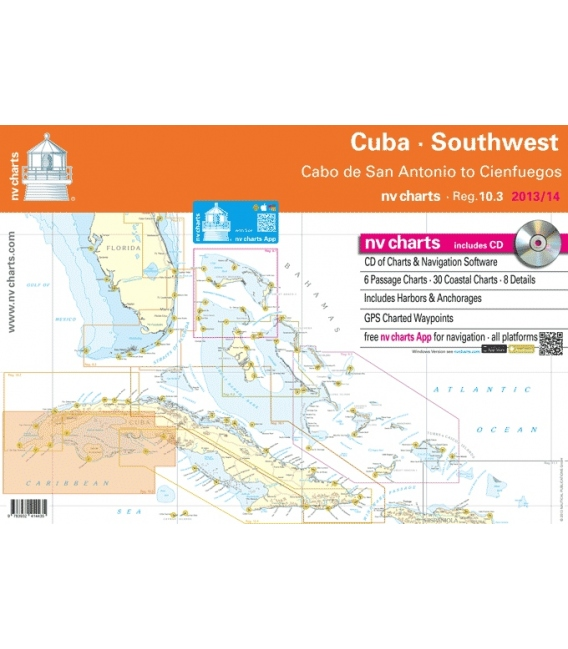 Region 10.3: Cuba Southwest, Cabo de San Antonio to Cienfuegos, 2013 Edition