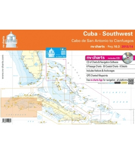 Region 10.3: Cuba Southwest, Cabo de San Antonio to Cienfuegos, 2015/16 Edition