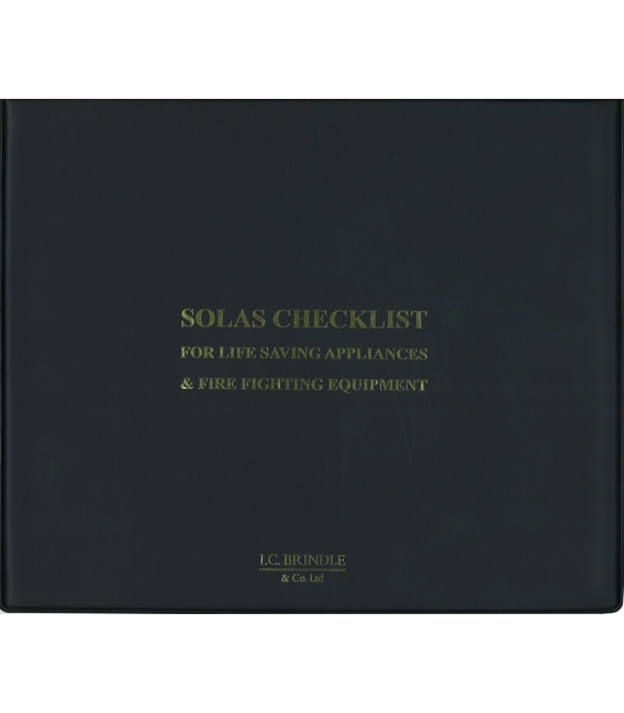 SOLAS Checklist for Life Saving Appliances & Fire Equipment (3rd, 2013)