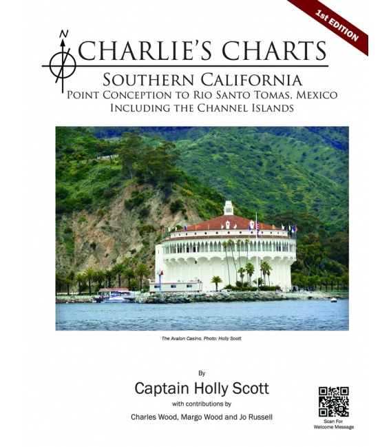 CHARLIE'S CHARTS of Southern California, 1st Ed. (2014) - NEW!