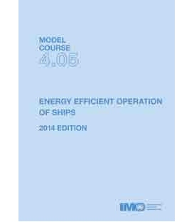 IMO T405E - Model course: Energy Efficient Operation of Ships, 2014 Edition