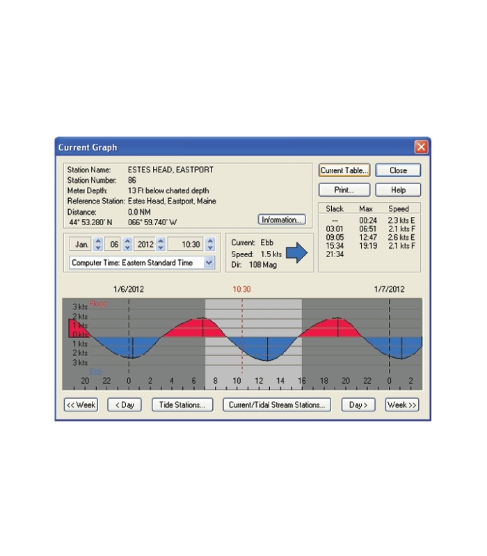 Maptech Us Boating Charts Dvd With Tides And Currents