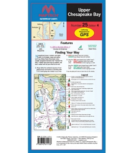 Maptech - Upper Chesapeake Bay Waterproof Chart
