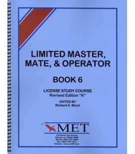 "BK-M006 Limited Master, Mate & Operator Book 5. Revised Ed. ""K""."