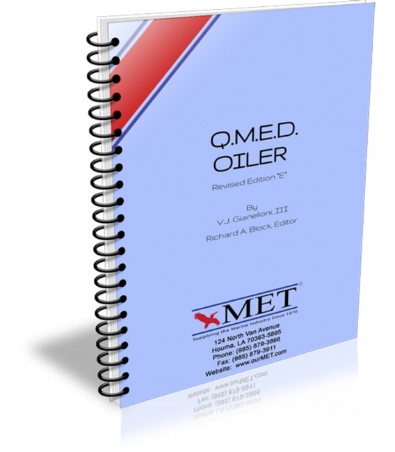 "BK-0068 QMED - Oiler Revised Edition ""E"", 2010 Edition"