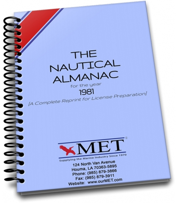 1981 Nautical Almanac (Reprint)
