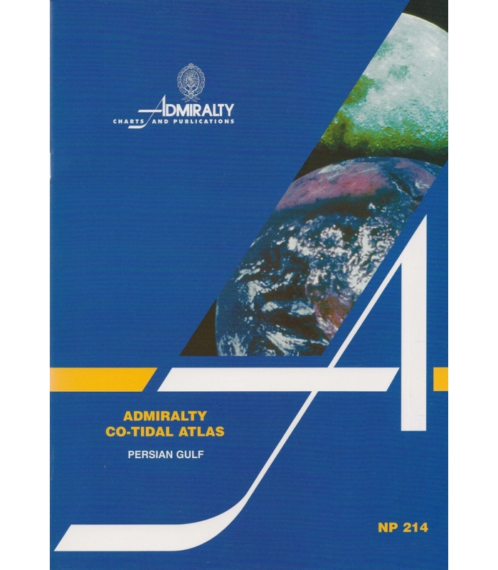 Np214 Admiralty Co Tidal Atlas Persian Gulf 2nd Edition 1999