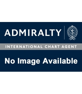 British Admiralty Nautical Chart 8042 Port Approach Guide Bahrain