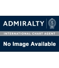 British Admiralty Nautical Chart 8072 Port Approach Guide The Elbe - Cuxhaven