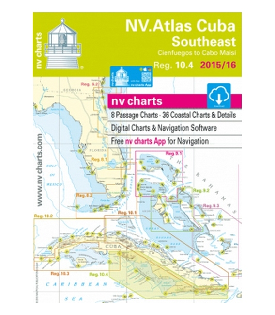 Region 10.4: Cuba Southeast, Cienfuegos to Cabo Maisi, 2015/16 Edition