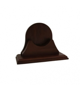 Single Wood Base for Endurance II - 105 (Mahogany Finish)