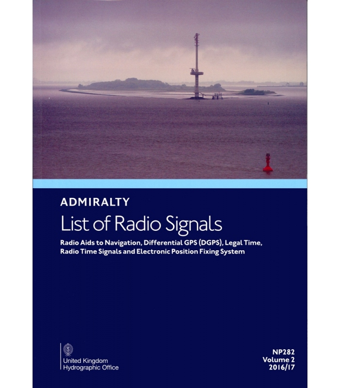 Np282 Admiralty List Of Radio Signals Volume 2 Radio