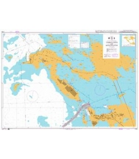 British Admiralty Nautical Chart 2164 Tahkoluoto and Mantyluoto