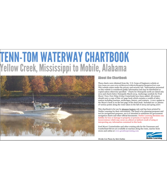 Tenn-Tom Waterway Chartbook Yellow Creek, Mississippi to Mobile, Alabama