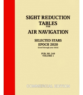 Pub 249, Volume 1: Sight Reduction for Air Navigation Selected Stars (EPOCH 2020)