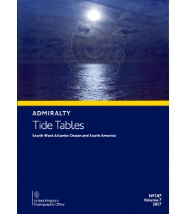 NP207 Admiralty Tide Tables (ATT) Volume 7 South West Atlantic Ocean and South America, 2017 Edition