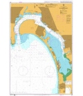 British Admiralty Nautical Chart 897 San Diego Bay