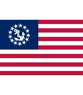 U.S Yacht Ensign Flag (12x18)