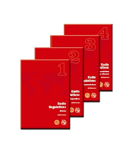 ITU Radio Regulations, Edition of 2016 (4 Volume Set)