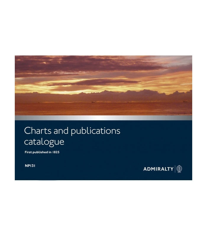 np131 catalogue of admiralty charts and publications 2018