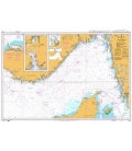 British Admiralty Nautical Chart 1402 Skagerrak