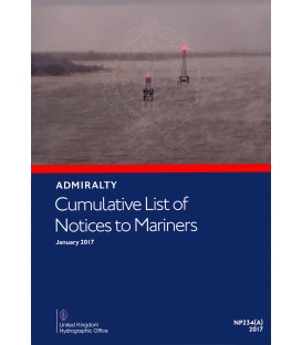 Cumulative List of Admiralty Notices to Mariners (January 2017)