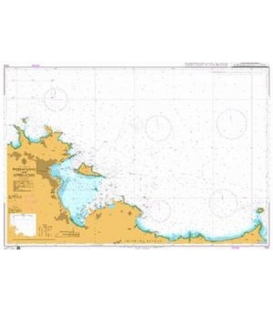 British Admiralty Nautical Chart 1316 Weihai Gang and Approaches
