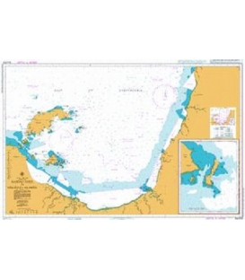 British Admiralty Australian Nautical Chart AUS303 Nassau River to Wellesley Islands